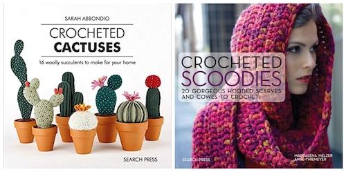 2019 International Crochet Month Designer Showcase with Underground Crafter - Search Press prize
