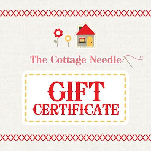 Little Gifts Sew Along 2019 with Underground Crafter | The Cottage Needle giveaway prize