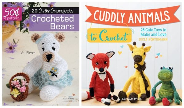 2019 Softie Crochet Along with CAL Central Crochet via Underground Crafter - Search Press Prize
