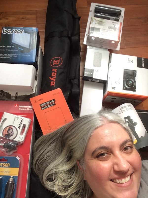 Maker Photo Month Instagram Challenge 2019 with Underground Crafter - Marie with shipment from B&H Photo Video and Pro Audio