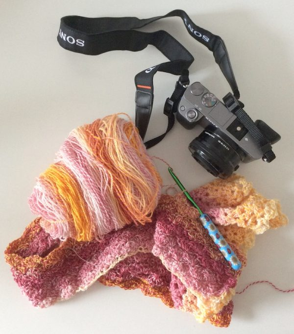 Maker Photo Month Instagram Challenge 2019 with Underground Crafter - Sony Alpha a6000 and pretty yarn stuff