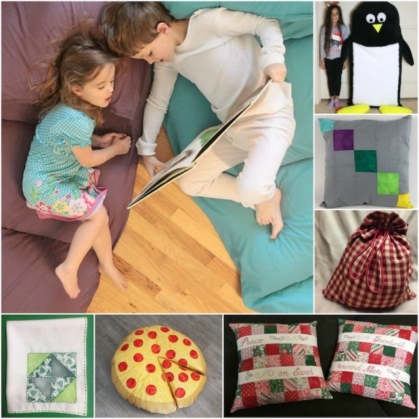 33+ Free Handmade Gift Ideas for Home via Underground Crafter - collage of sewing patterns