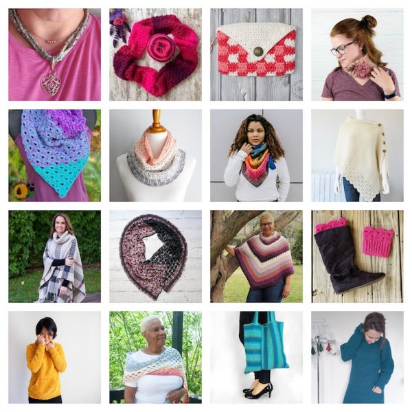 36+ Free Handmade Gift Ideas for Women via Underground Crafter - crochet pattern collage