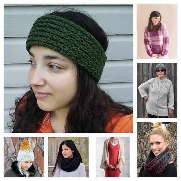 36+ Free Handmade Gift Ideas for Women via Underground Crafter - knitting pattern collage