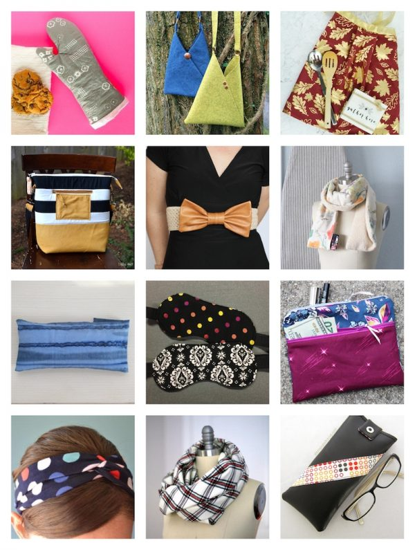 36+ Free Handmade Gift Ideas for Women via Underground Crafter - sewing pattern collage