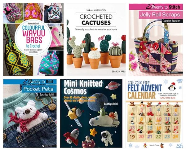 Christmas in July Make Along with Underground Crafter 2019 -Search Press North America prize