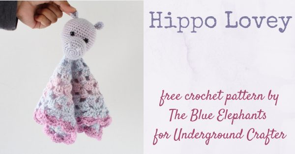 Tiny crochet hippo amigurumi pattern - Amigurumi Today | 314x600