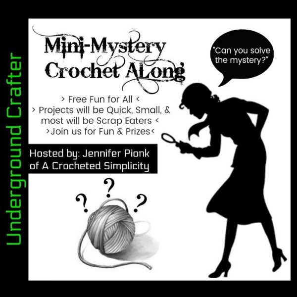 Mini Mystery Crochet Along 14 with Underground Crafter