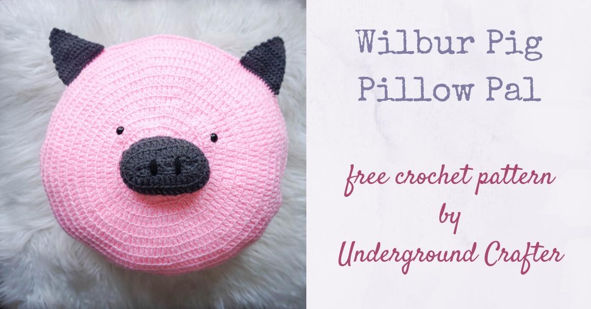 Crochet Teddy Bear Cushion | 628x1200