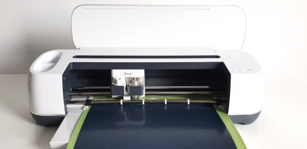 Cricut Basics: Iron-On Vinyl Tutorial by How To Heat Press for Underground Crafter - Cricut Maker cutting vinyl