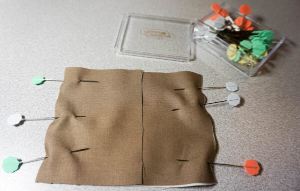 Sew a Sloth!/How To Add Safety Eyes to Fabric by Underground Crafter - pinned fabric