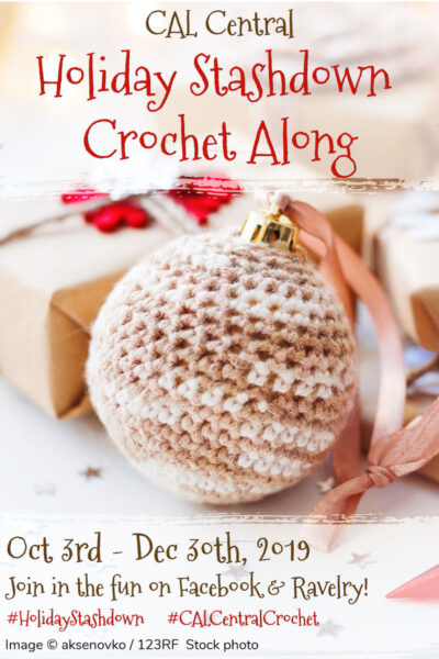 2019 Holiday Stashdown Crochet Along via Underground Crafter