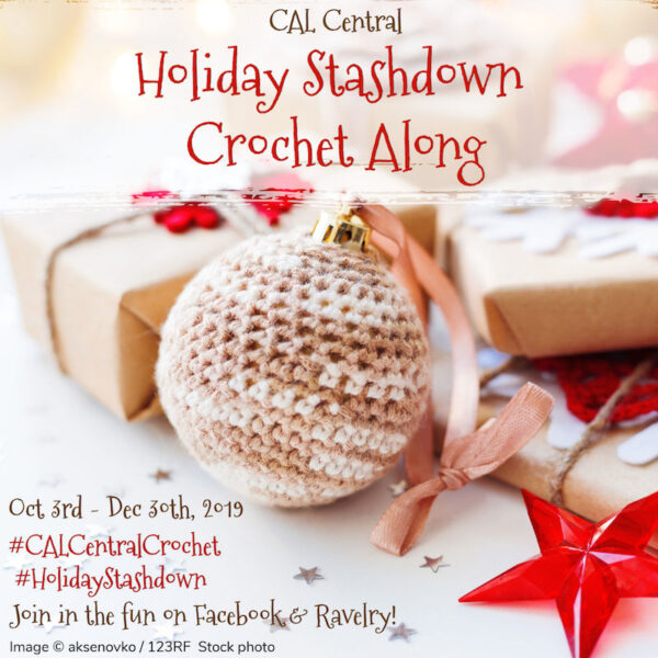 2019 Holiday Stashdown Crochet Along via Underground Crafter