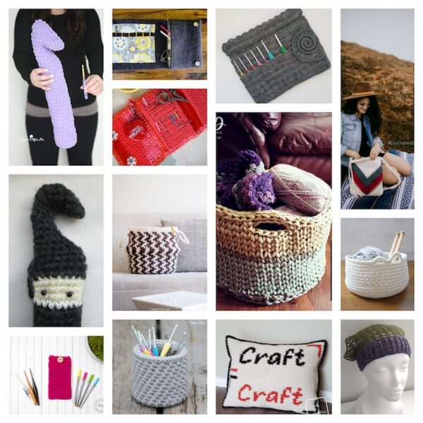 27+ Free Handmade Gift Ideas for Makers via Underground Crafter - crochet collage