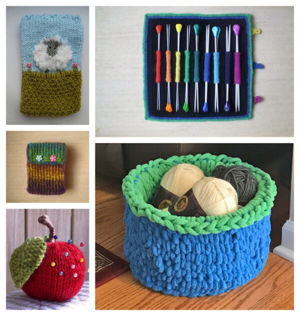 27+ Free Handmade Gift Ideas for Makers via Underground Crafter - knitting collage