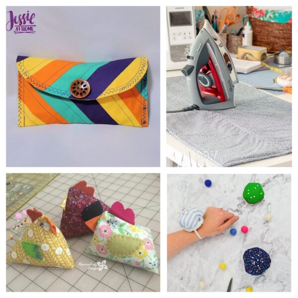 27+ Free Handmade Gift Ideas for Makers via Underground Crafter - sewing collage