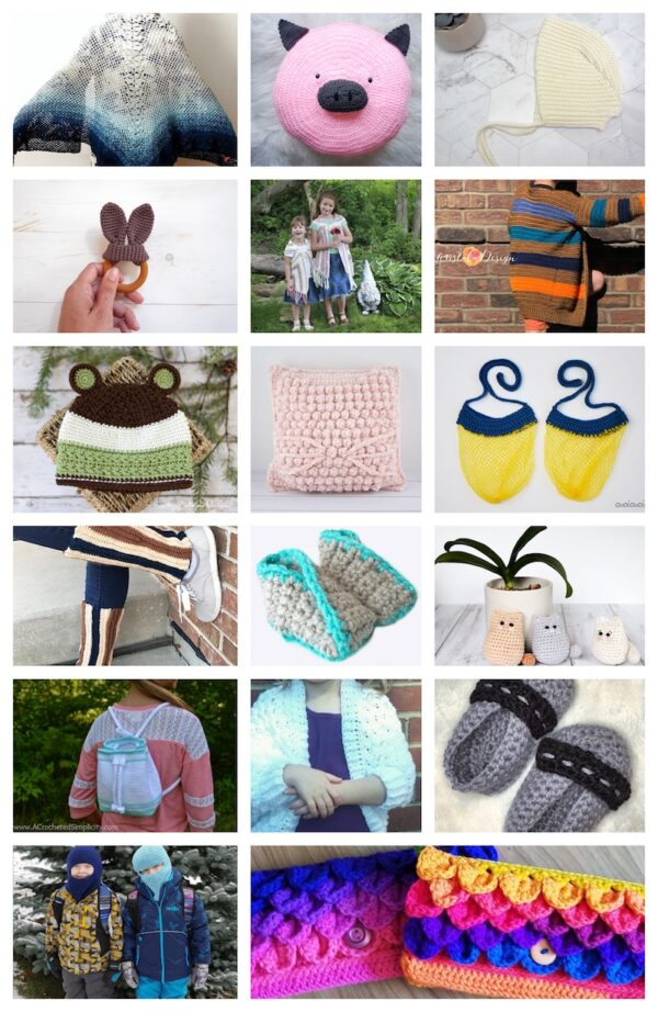 33+ Free #Handmade Gift Ideas for Kids via Underground Crafter - crochet collage
