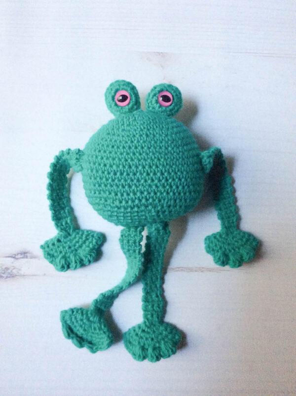 Amigurum Frog Free Crochet Pattern - Crochet.msa.plus | 803x600