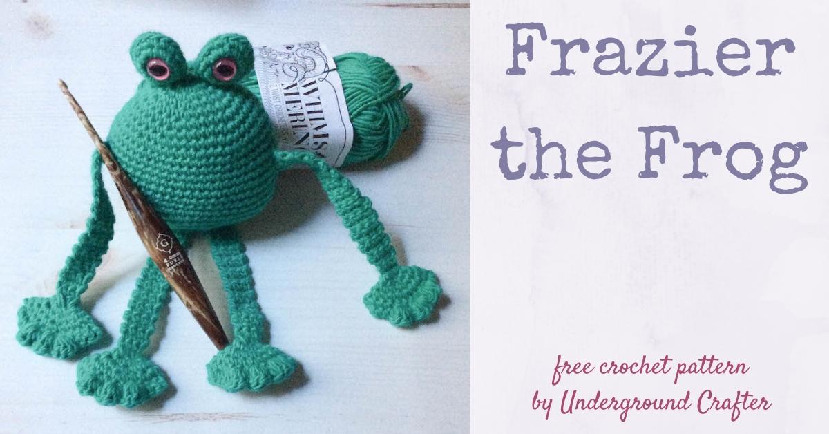 Free Pattern: Tree Frog   628x1200