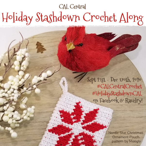 Your Crochet Christmas 2020 Announcing the 2020 Holiday Stashdown Crochet Along! | Underground